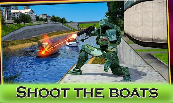 Robot Boat Transformation apk screenshot