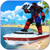 Robot Squad Life Guards Rescue Hero Survival Games icon