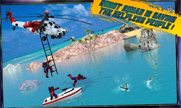 Robot Squad Life Guards Rescue Hero Survival Games poster