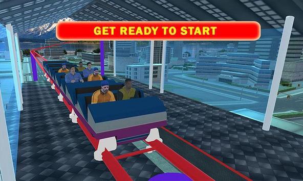 Roller Coaster Drive Simulator poster