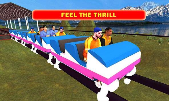 Roller Coaster Drive Simulator screenshot 1