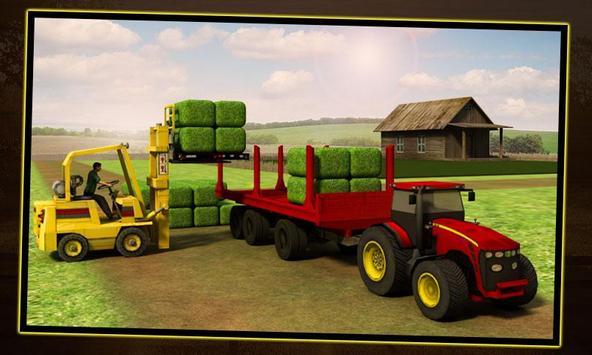 Silase Transporter Tractor screenshot 3