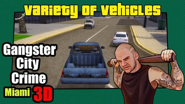 Gangstar City : Crime Miami screenshot 1