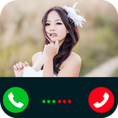 Fake Call Girl-Friends icon