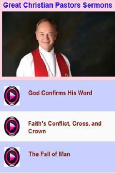 Great Christian Pastors Sermons poster