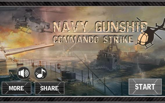 Navy Gunship Commando Strike poster