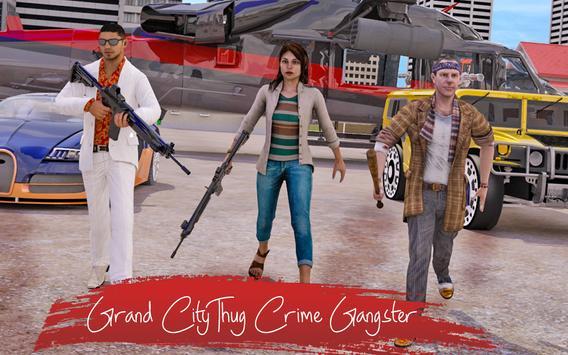 Grand City Thug Crime Gangster تصوير الشاشة 8