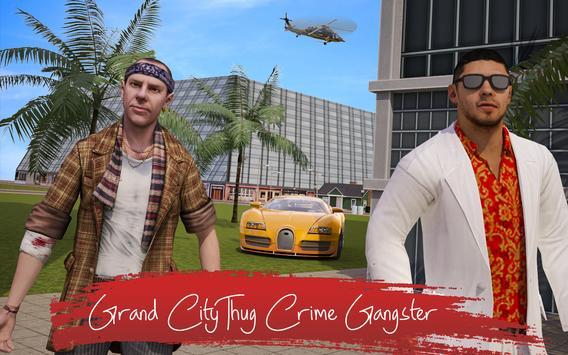 Grand City Thug Crime Gangster تصوير الشاشة 11