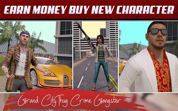 Grand City Thug Crime Gangster تصوير الشاشة 3