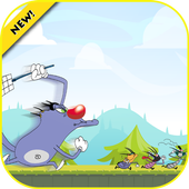 Escaping Angry Oggy Adventures icon
