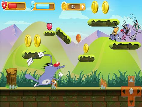Escaping Angry Oggy Adventures apk screenshot