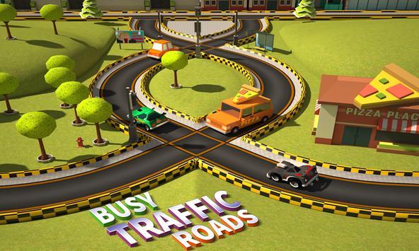Busy Traffic Roads 2016 apk screenshot