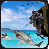 Shark Sniper Hunting 2017 icon