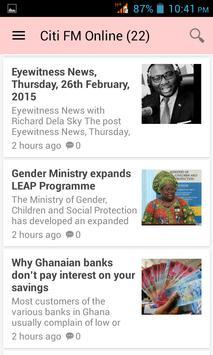 Ghana News App poster