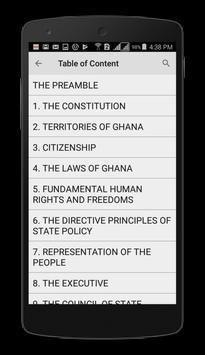 Ghana Constitution screenshot 2