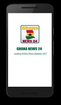 Ghana News 24 poster