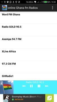 Online Ghana Radios poster
