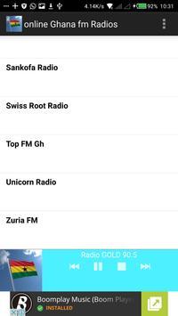 Online Ghana Radios apk screenshot