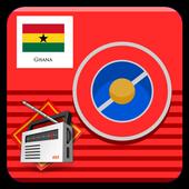 Ghana radios Free icon