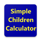 Simple Children Calculator icon