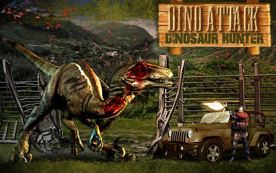Dino Attack : Dinosaur Hunter poster