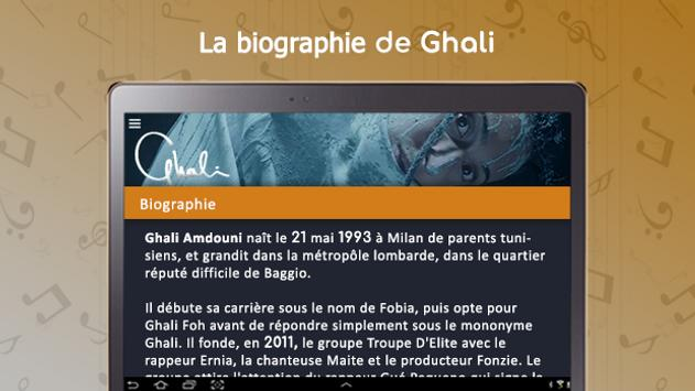 Ghali : songs, lyrics,..offline screenshot 11