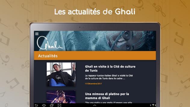 Ghali : songs, lyrics,..offline screenshot 12