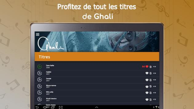 Ghali : songs, lyrics,..offline screenshot 7