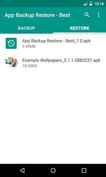 App Backup Restore - Best screenshot 1