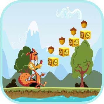 Jungle Squirrel Run Adventure screenshot 1
