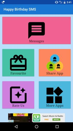 Happy Birthday Hindi Sms Wish Apk Download Free Entertainment App