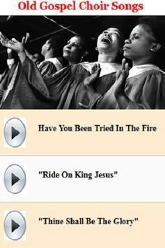 Old Gospel Choir Songs poster