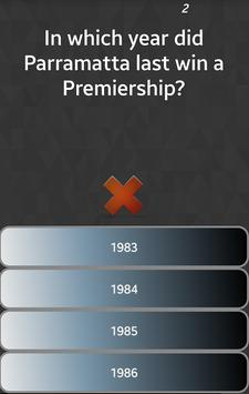 Rugby League Trivia 截图 2