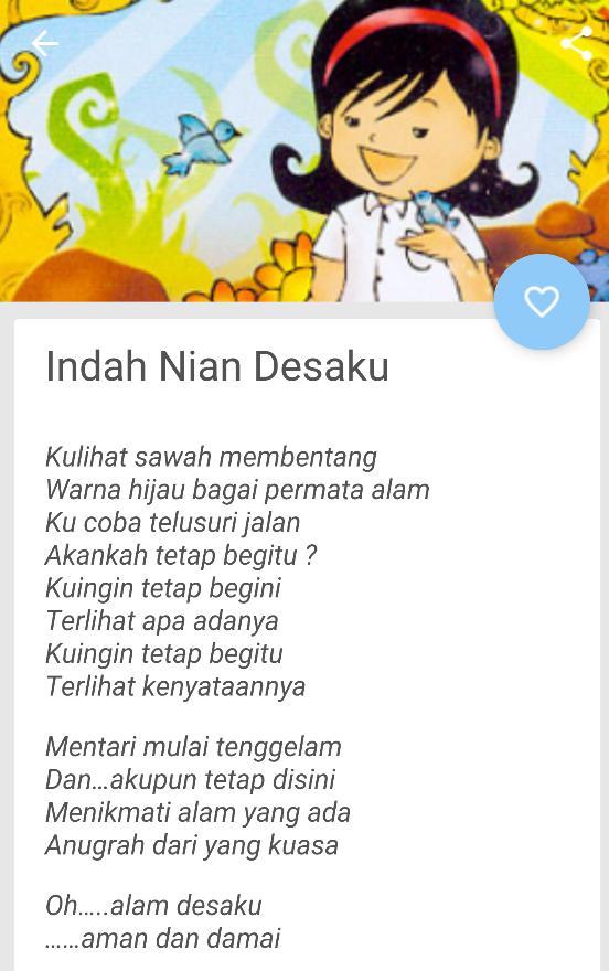 Contoh Puisi Anak Sd Fur Android Apk Herunterladen