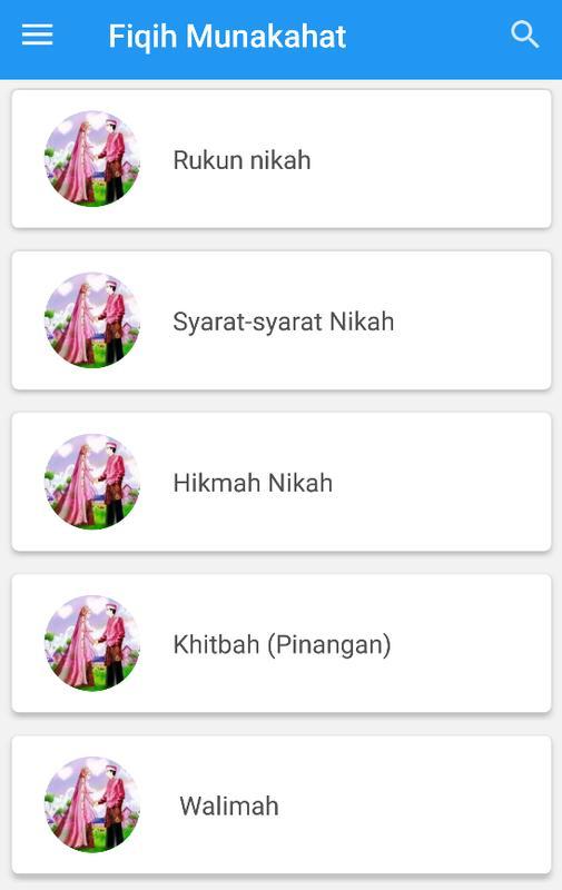 Rukun Nikah Fiqih Munakahat For Android Apk Download