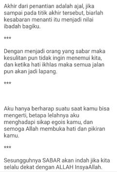 Kata Kata Islami Menyentuh Hati screenshot 4