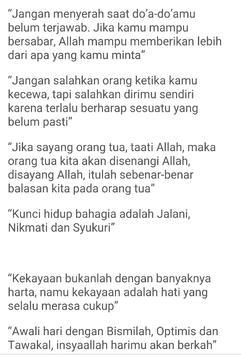 Kata Kata Islami Menyentuh Hati screenshot 5