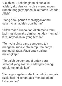 Kata Kata Islami Menyentuh Hati screenshot 6