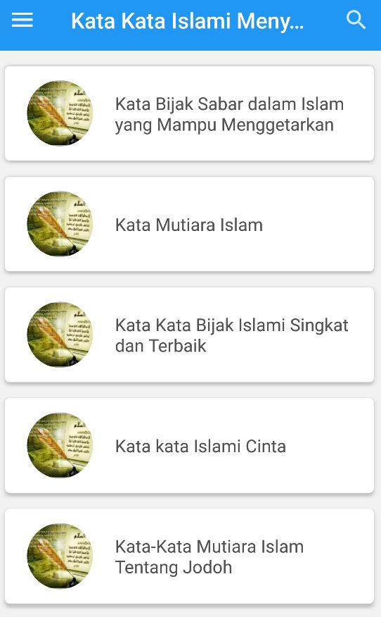 Kata Kata Islami Menyentuh Hati For Android Apk Download