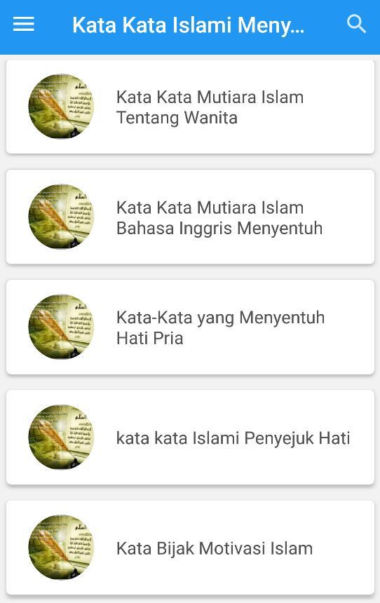 Kata Kata Islami Menyentuh Hati For Android Apk Download