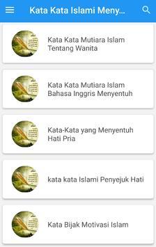 Kata Kata Islami Menyentuh Hati screenshot 2