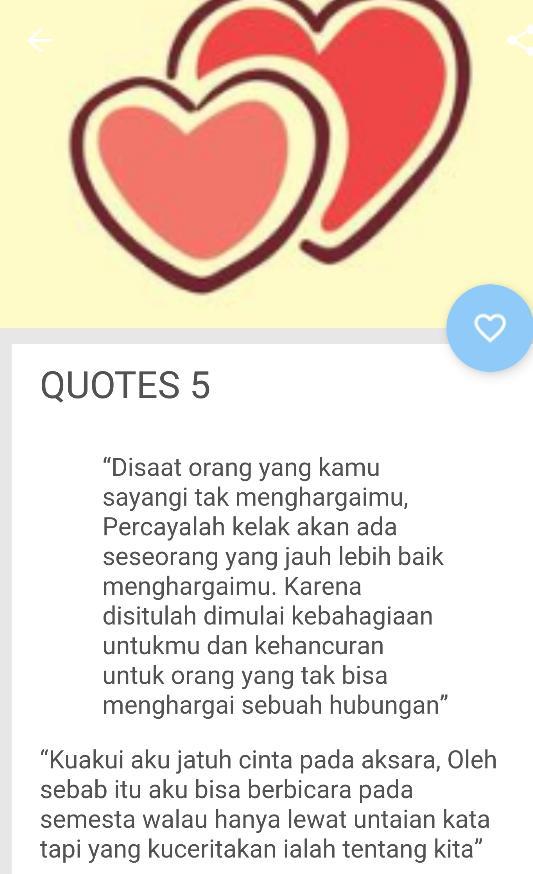 Kata Kata Romantis Buat Pacar Tersayang For Android Apk