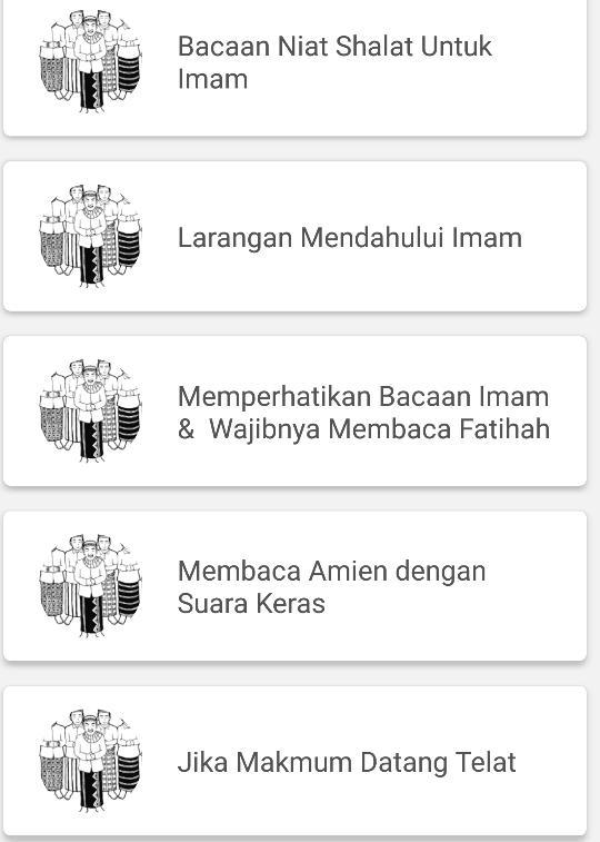 Tata Cara Sholat Berjamaah For Android Apk Download