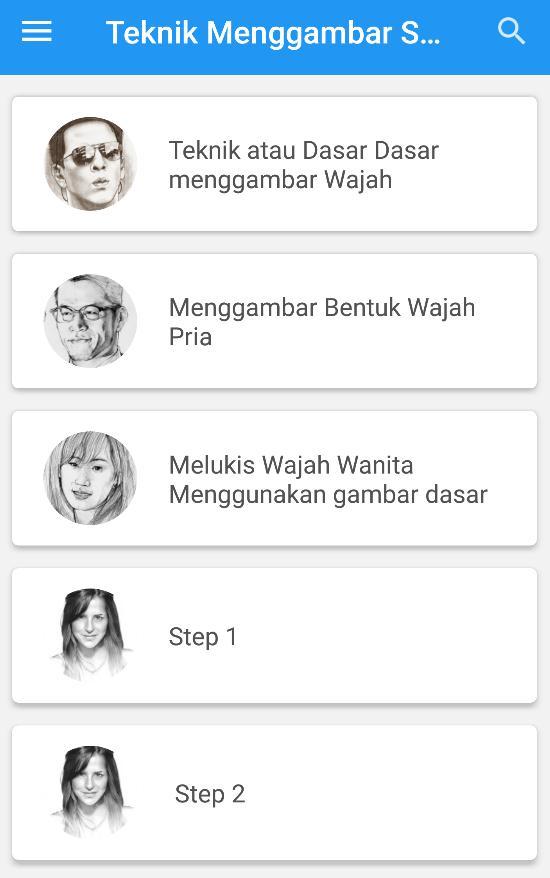 Tutorial Cara Menggambar Sketsa Wajah For Android Apk Download