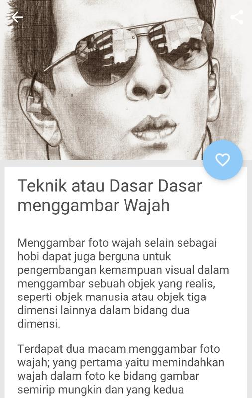Tutorial Cara Menggambar Sketsa Wajah For Android Apk Download
