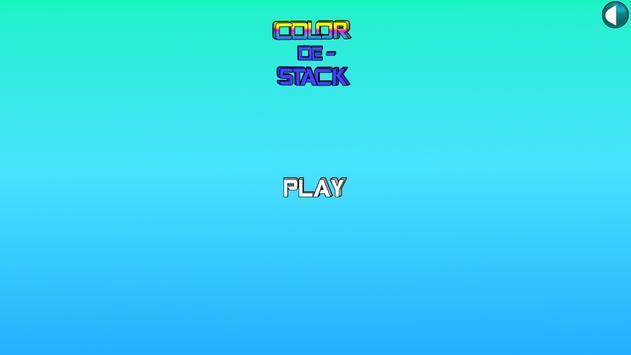 Color De-Stack poster