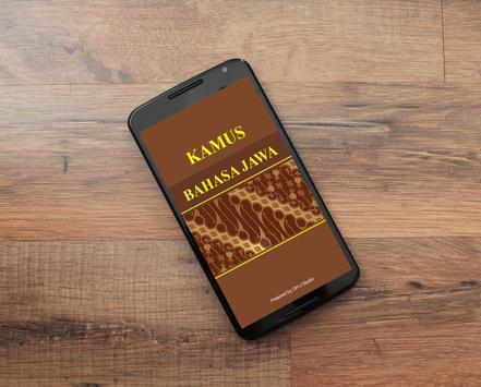Kamus Bahasa Jawa poster