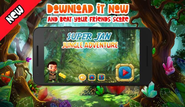 Super Jan - Jungle Adventure poster