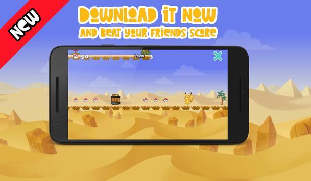 Super Pika - Pyramid Adventure apk screenshot
