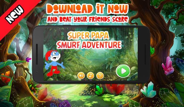 Super Papa Smurfy Adventure poster